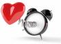 Afbeelding van klok met hart