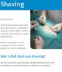 Cover folder shaving