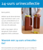 Cover folder 24-uurs urinecollectie
